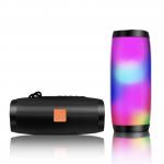 Портативная влагостойкая bluetooth колонка TG-157 с разноцветной подсветкой